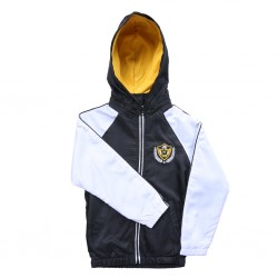 jaket hoodie combination black and white Series