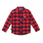 Long Sleeve Checkered- BR
