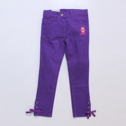 Trouser With Eyelet Accent Series